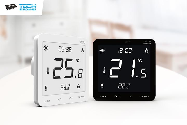Контролируйте температуру в помещении и на полу с помощью нового регулятора скрытого монтажа ST-297v3.