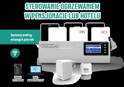 Nowy system do sterowania ogrzewaniem firmy TECH szansą na oszczędności dla hotelarzy
