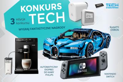 Nowy konkurs TECH Sterowniki z fantastycznymi nagrodami