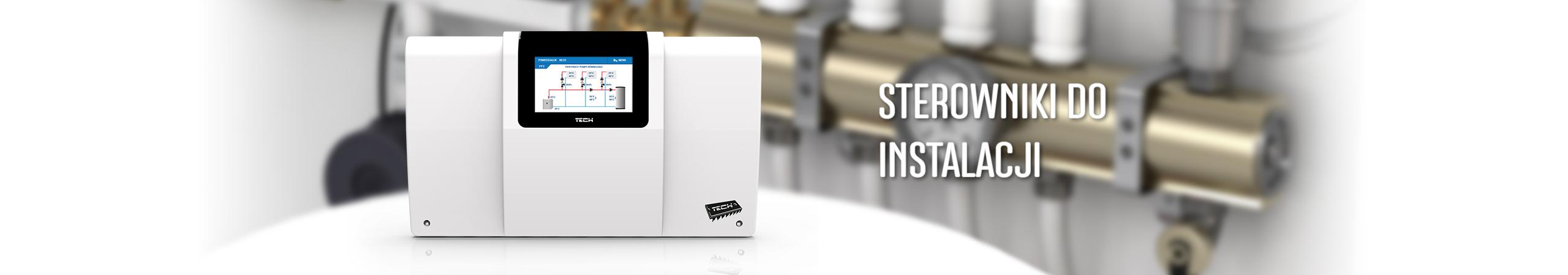 Sterowanie instalacją z wieloma źródłami ciepła - TECH Sterowniki
