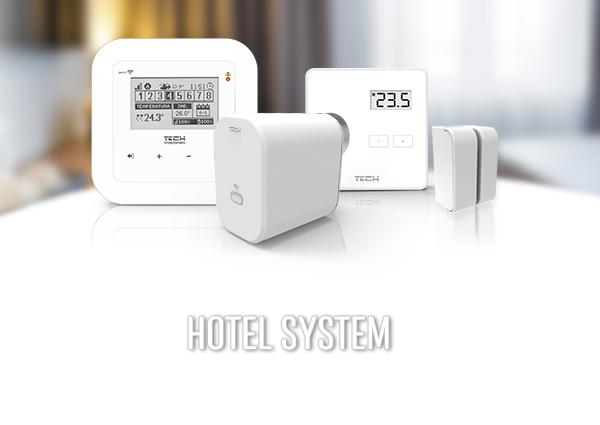 System Apartamenty – Hotele - TECH Sterowniki