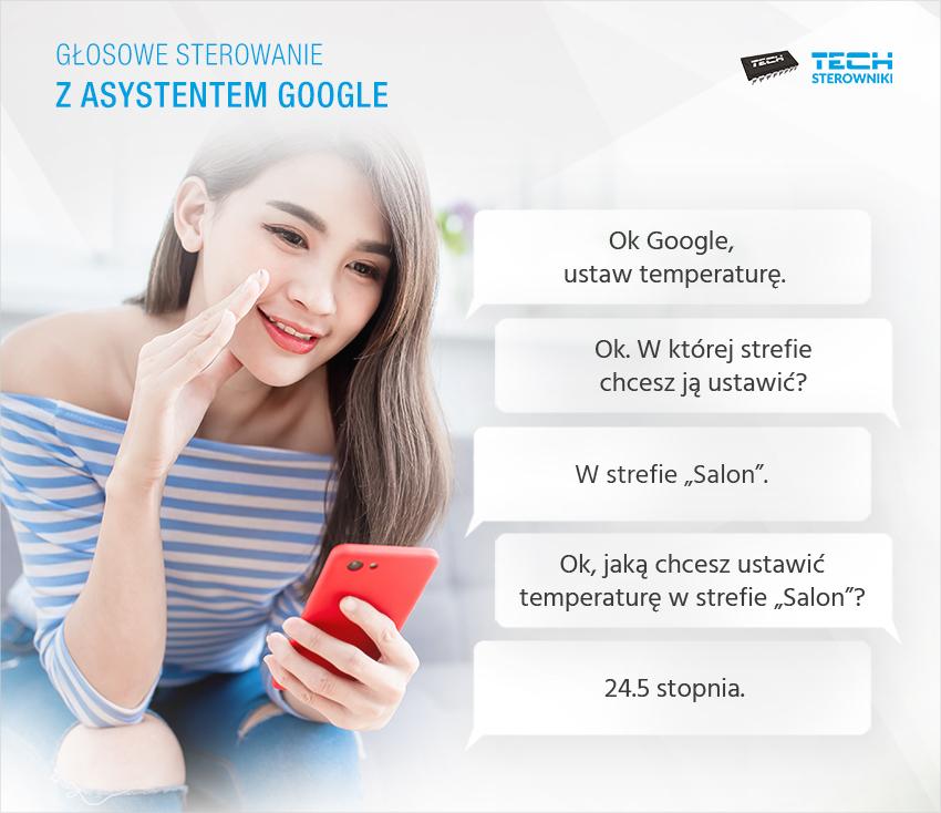 Голосовое управление с помощью Google Assistant