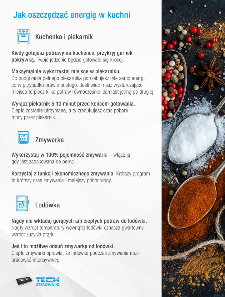 Jak oszczędzić energię w kuchni