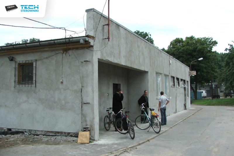 Pierwsza siedziba firmy, obecnie działa jako magazyn gotowych produktów
