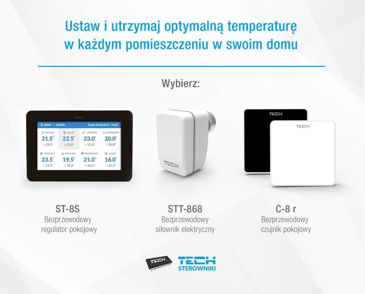 Ustaw i utrzymaj optymalną temperaturę