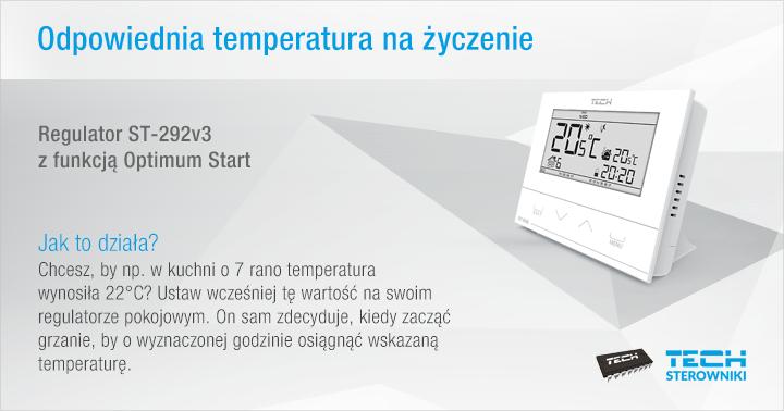 Odpowiednia temperatura na życzenie